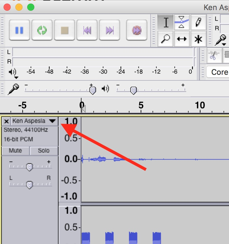 Editing Call Recorder Audio with Audacity | Ecamm Network