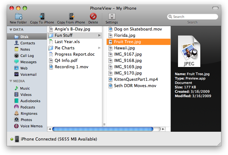 I Found This Useful: Howto enable disk mode on iPod Touch 2G